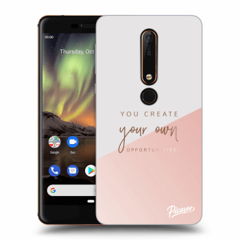 Hülle für Nokia 6.1 - You create your own opportunities