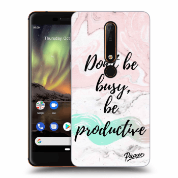 Hülle für Nokia 6.1 - Don't be busy, be productive