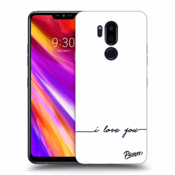 Hülle für LG G7 ThinQ - I love you