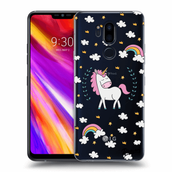 Hülle für LG G7 ThinQ - Unicorn star heaven