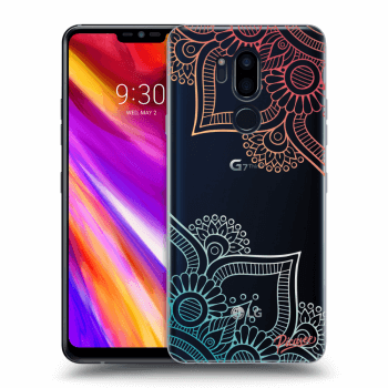 Hülle für LG G7 ThinQ - Flowers pattern
