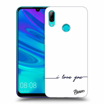 Hülle für Huawei P Smart 2019 - I love you