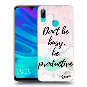 Hülle für Huawei P Smart 2019 - Don't be busy, be productive