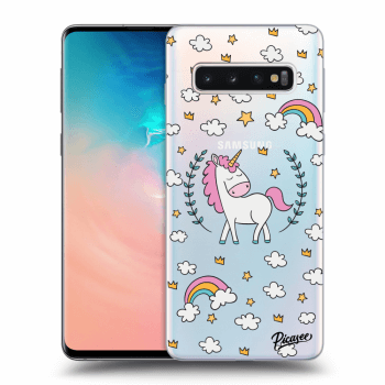 Hülle für Samsung Galaxy S10 G973 - Unicorn star heaven