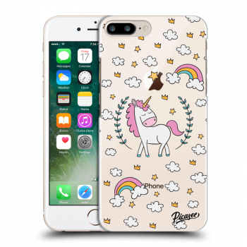 Hülle für Apple iPhone 8 Plus - Unicorn star heaven