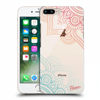 Hülle für Apple iPhone 8 Plus - Flowers pattern