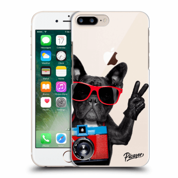 Hülle für Apple iPhone 8 Plus - French Bulldog