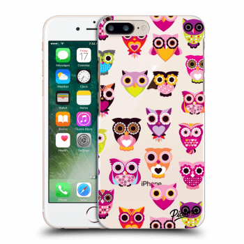 Hülle für Apple iPhone 8 Plus - Owls
