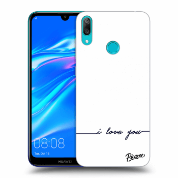 Hülle für Huawei Y7 2019 - I love you