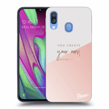 Hülle für Samsung Galaxy A40 A405F - You create your own opportunities
